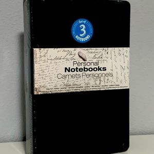 Set of 3 Personal Notebooks